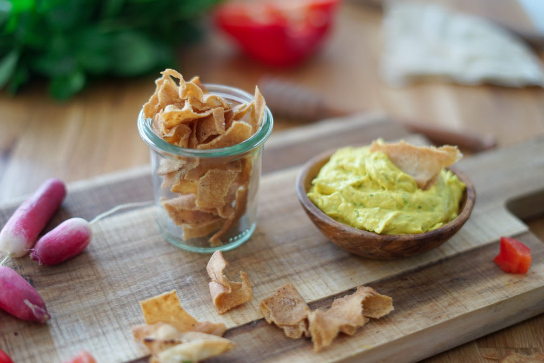 Recette Chips Pita 4