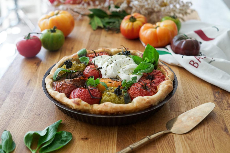 Recette Tarte Tomate Mozzarella 2