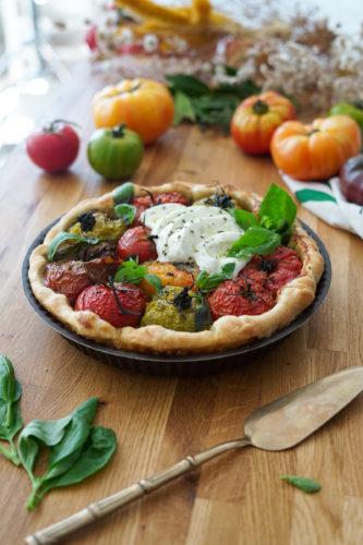 Recette Tarte Tomate Mozzarella 6