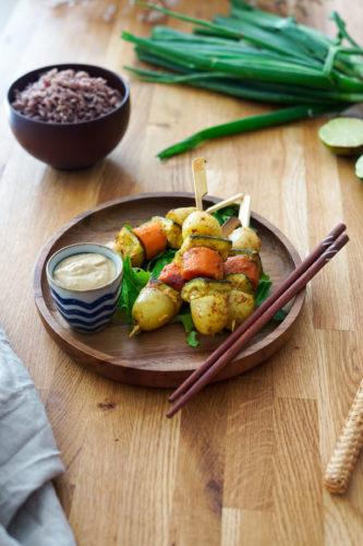 Recette Satay Vegetarien 8